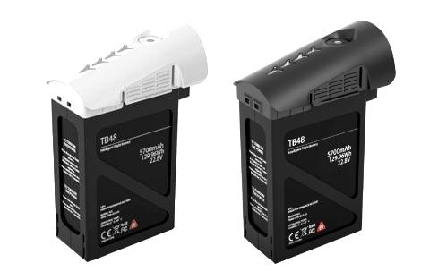 Batterie TB48 5700 mAh pour Inspire 1 DJI en version noire ou blanche