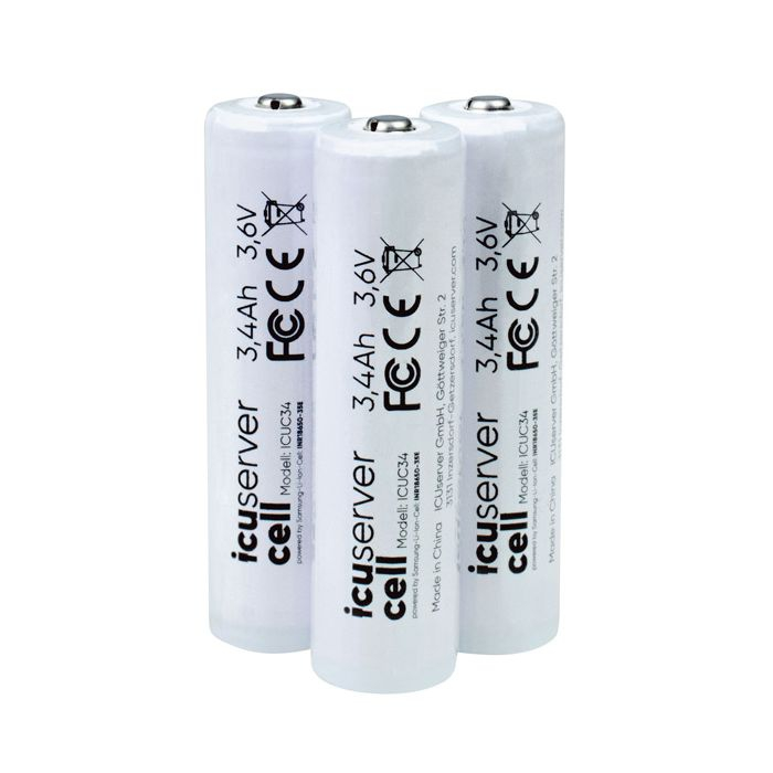 Batteries Icucell 18650 - Icuserver