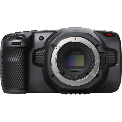 Blackmagic Pocket Cinema Camera 6K vue de face