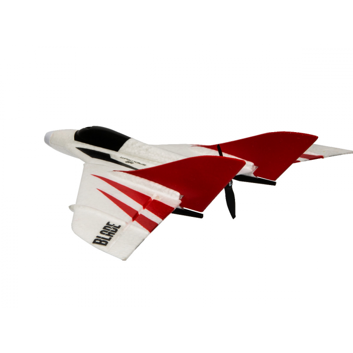 Blade UM F-27 Ultra Micro 432mm vue de trois quart arrière
