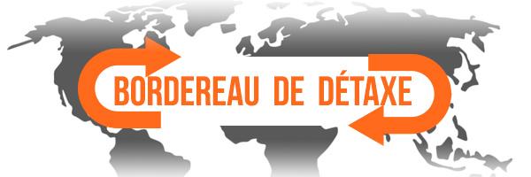 Bordereau de détaxe studioSPORT.fr