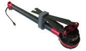 Bras complet anti-horaire LED rouge DJI S1000