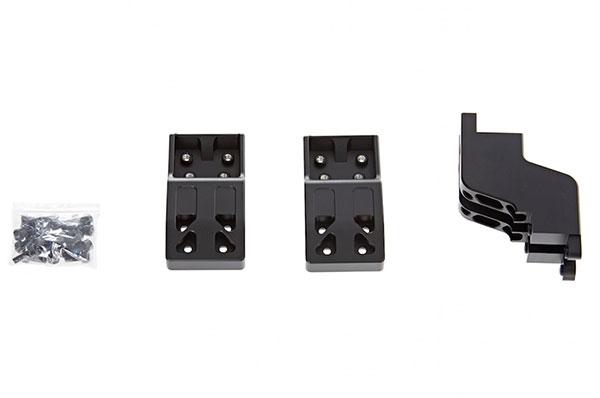 2 Bras d\'extension 50 mm avec support central et set de vis pour DJI Ronin