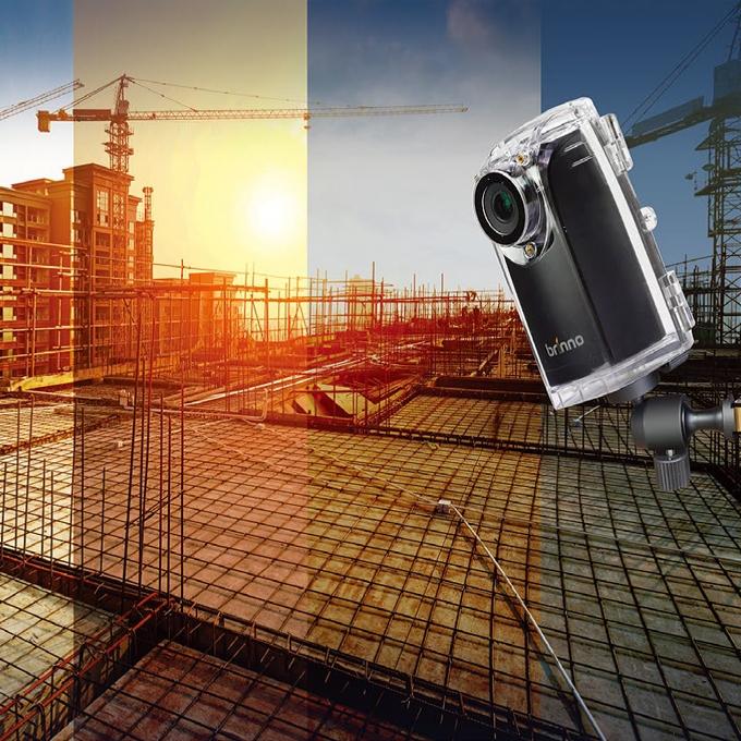 Brinno Caméra Construction Pro BCC200 timelapse chantier immeuble