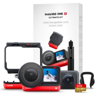 Bundle Insta360 ONE R Ultimate Kit