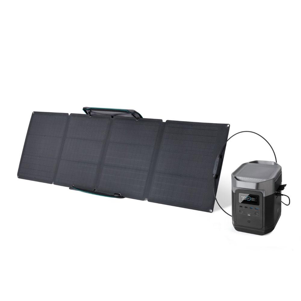Bundle station de charge Delta avec panneau solaire 110W - EcoFlow