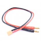 Câble d\'alimentation mâle XT30 vers Banana Plug 4.0 mm (20cm) - Readytosky