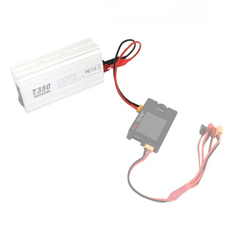 Câble d\'alimentation XT60 vers pinces croco - ToolkitRC