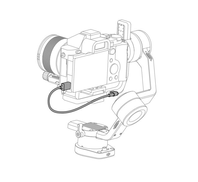 Câble de connexion pour Ronin-SC Type-C vers microUSB - DJI