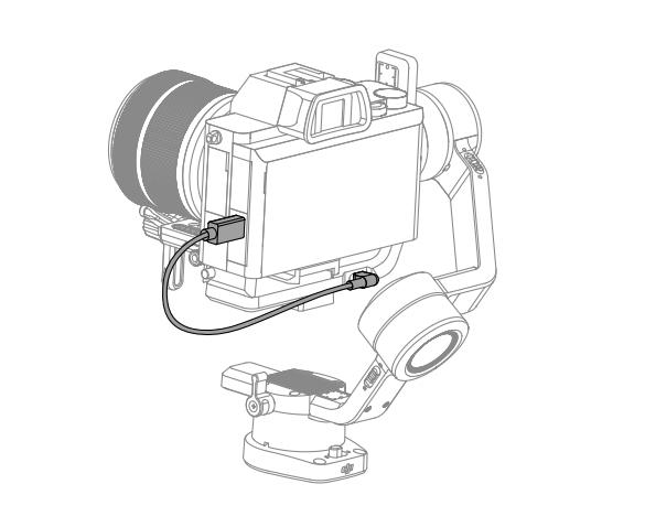 Câble de connexion pour Ronin-SC Type-C vers Type-C - DJI