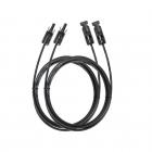 Câbles d\'extension MC4 pour panneau solaire 3 mètres - EcoFlow