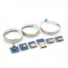 Câbles HDMI modulables avec 6 connecteurs