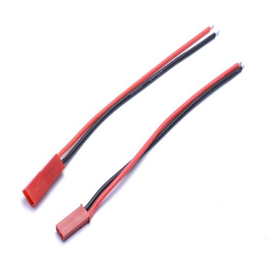 Câbles JST Mâle et Femelle 10cm - ReadyToSky
