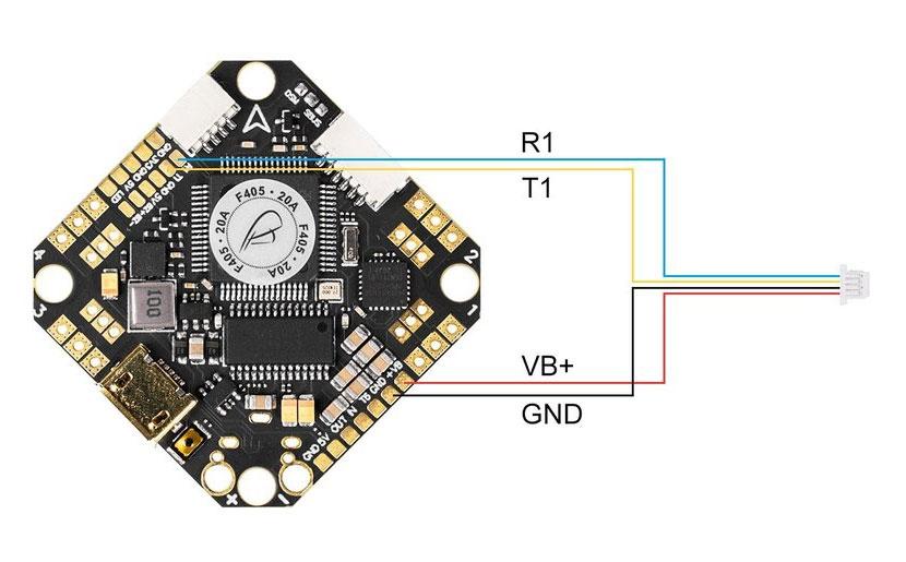 Câbles pigtail pour caméra SMO 4K - BetaFPV