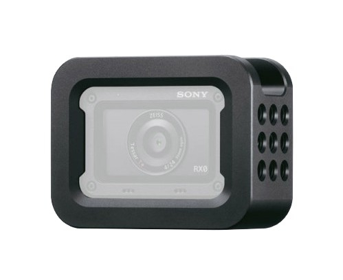 Cage porte accessoires avec caméra Sony RX0