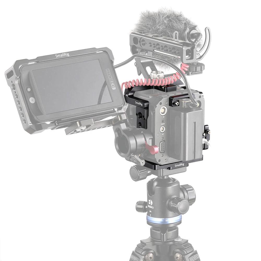 Micro, poignées et écran sur cage pour caméra ZCAM E2 SmallRig