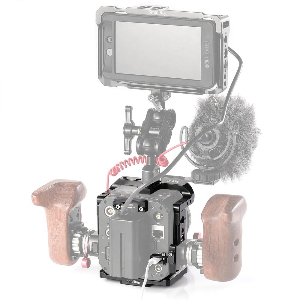 Sécurisation des câbles pour cage pour caméra ZCAM E2 - SmallRig
