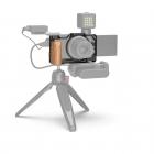 Cage pour Sony ZV-1 avec poignée en bois 2937 - SmallRig