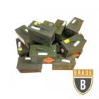 Caisse millitaire vintage pour batteries (Occasion)