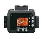 Caisson étanche 100m avec caméra Sony RX0 - vue de dos
