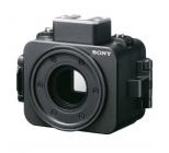 Caisson étanche 100m pour caméra Sony RX0 - vue de biais