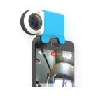 Caméra 360 Giroptic iO branchée sur un smartphone Android