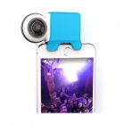 Caméra 360 Giroptic IO montée sur un iPhone