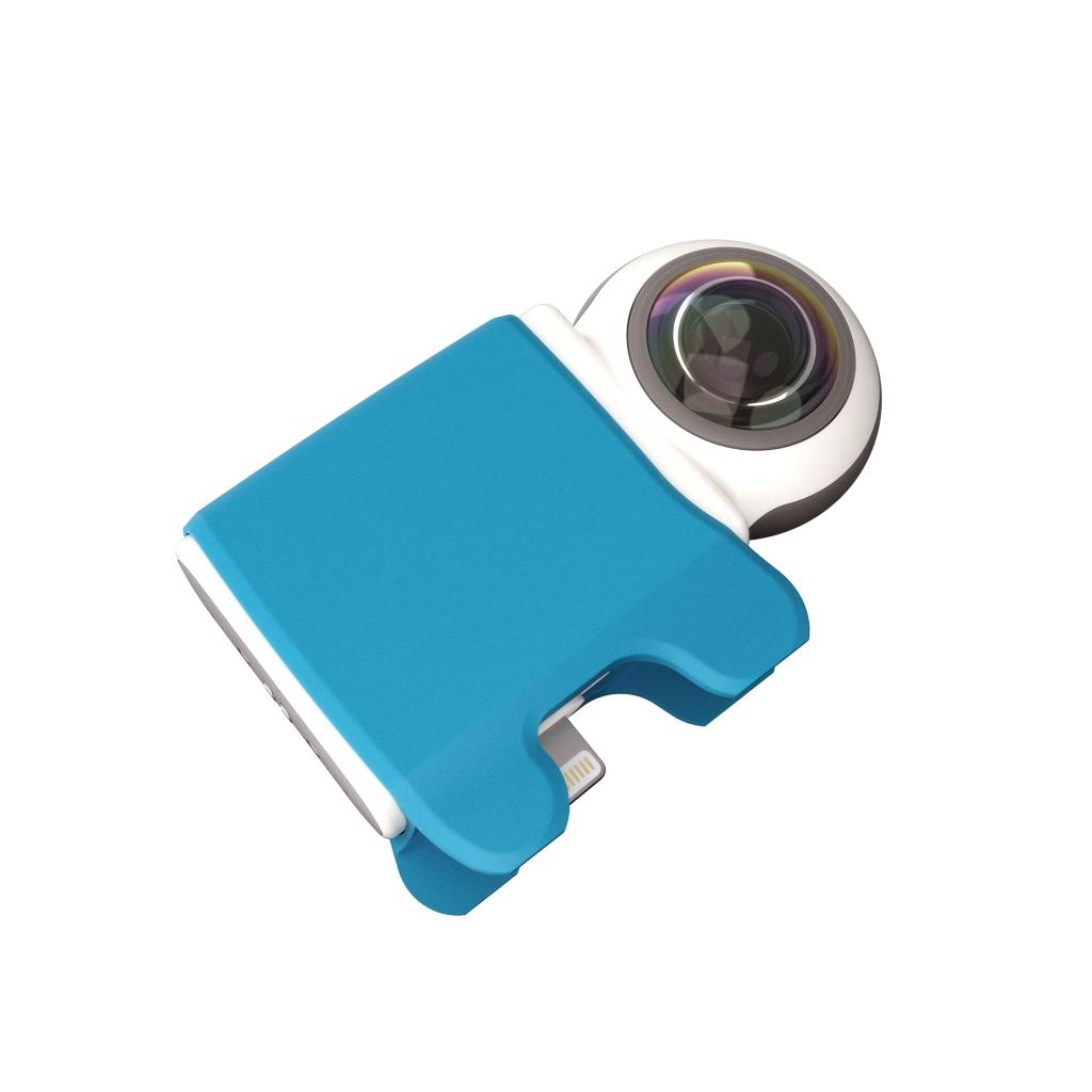 Caméra 360 Giroptic IO vue de haut