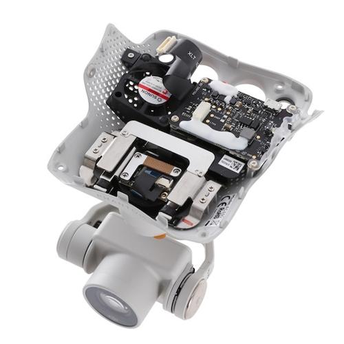 Caméra 4K pour DJI Phantom 4, vue sur le dessus