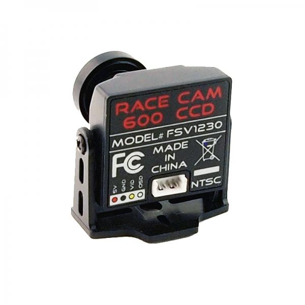 Caméra 600 lignes CCD Fatshark  FSV1229 Race Cam (PAL) Vue de dos
