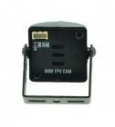 Caméra 700 TVL CMOS vue de dos