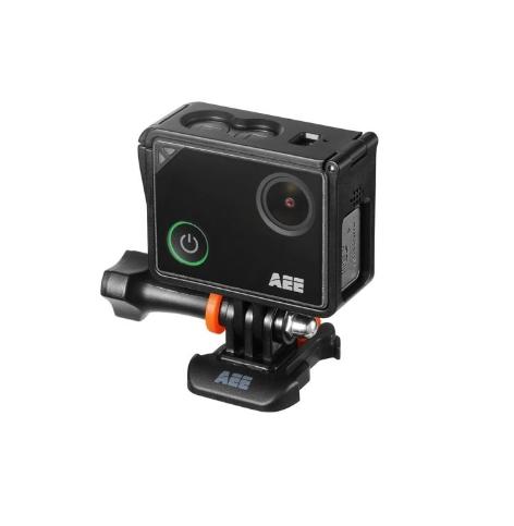 Caméra AEE LYFE TITAN avec caisson - vue de côté