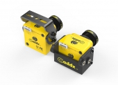Caméra CaddX Turbo S1 jaune différents supports