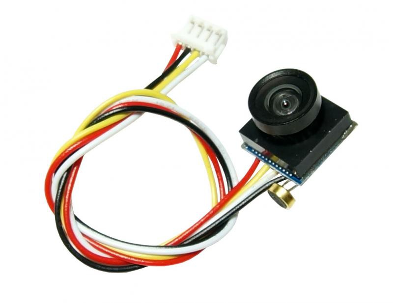 Caméra CMOS Nano 600 lignes 110° avec micro intégré