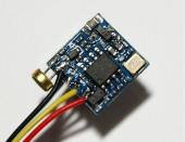 Caméra CMOS Nano 600 lignes 110° vue arrière
