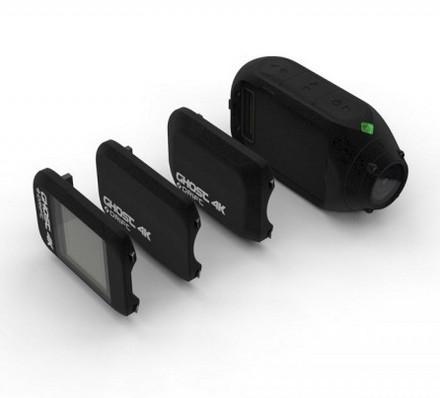 Caméra embarquée Drift Ghost 4K avec les différents modules