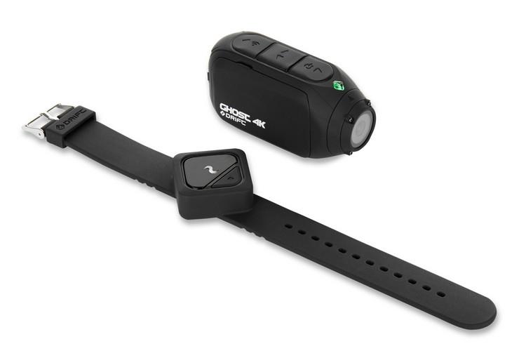 Caméra Drift Ghost 4K avec télécommande remote