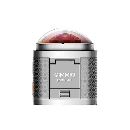 La caméra DV360 Qimmiq dispose d'une autonomie de 90 minutes en vidéo Full HD 1080P 60 FPS