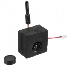 Caméra Eachine TX05 5.8Ghz 40ch 5-250mW Vue avec sa protection