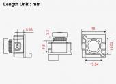 Caméra FOXEER Monster Micro Pro 16:9 1200TVL