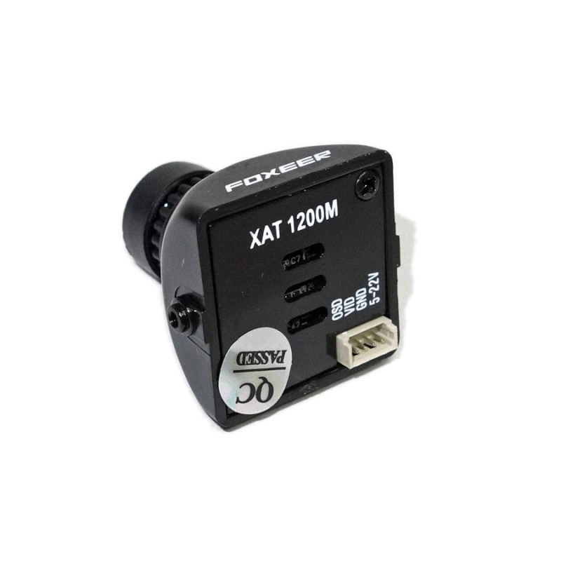 Caméra Foxeer XAT1200M 1200TVL vue de dos