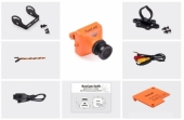 Caméra FPV RunCam Swift Orange ensemble complet.