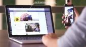 Caméra Insta360 Nano pour Iphones en utilisation avec un PC