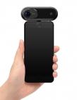 Caméra Insta360 ONE utilisée sur un iPhone