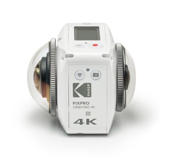 Caméra Kodak Pixpro Orbit 360 4K Adventure Pack - vue de côté