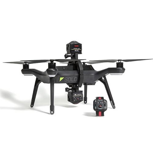 Aerial Pack Kodak SP360 4K monté sur 3DR SOLO