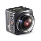 Caméra Kodak SP360 4K - Aqua Sport Pack - vue de côté avec caméra incliné