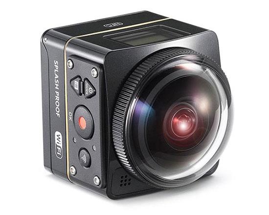 Caméra Kodak SP360 4K - Dual Pro Pack - vue de biais