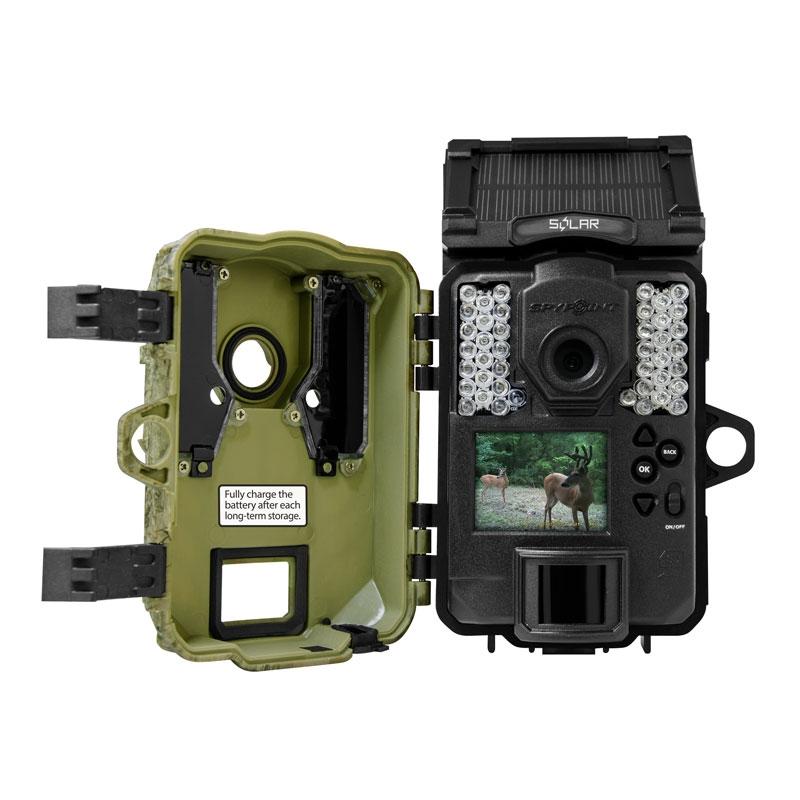 """Le Piège photographique Spypoint SOLAR dispose d'un écran LCD 2"""""""