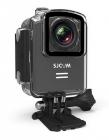 Caméra SJCAM M20 vue de biais avec caisson